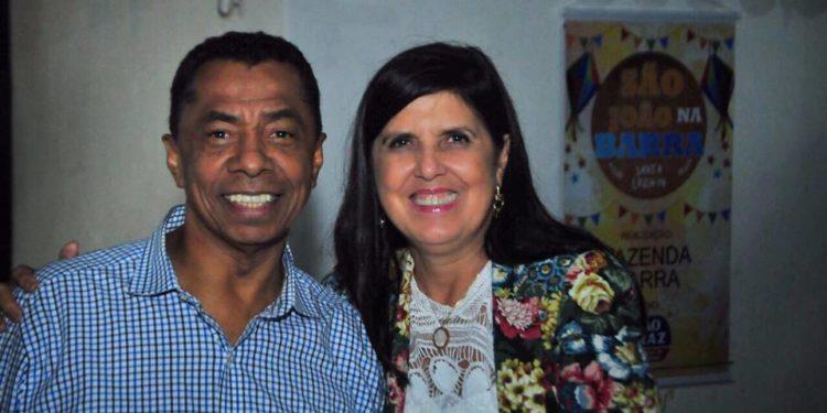 ligia e damiao 750x375 - Vice-governadora pela 2ª vez, Lígia Feliciano diz estar satisfeita com os espaços do PDT na gestão João Azevêdo