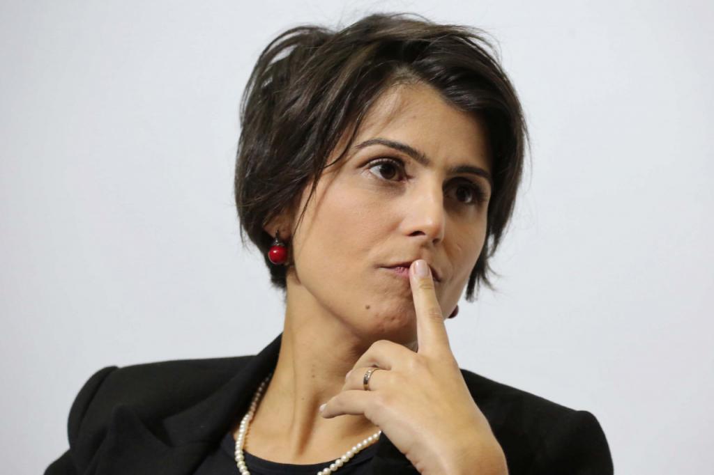 manuela ae 1024x682 - Hacker diz a polícia federal que chegou a Glenn Greenwald por meio de Manuela D' Ávila