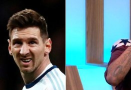 Internautas ironizam relato de Carlos Alberto sobre momento de intimidade com Lionel Messi