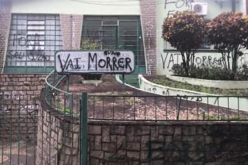 palmeron1 1 - Presidente do Guarani, Palmeron Mendes sofre ameças de morte após ter escritório pichado