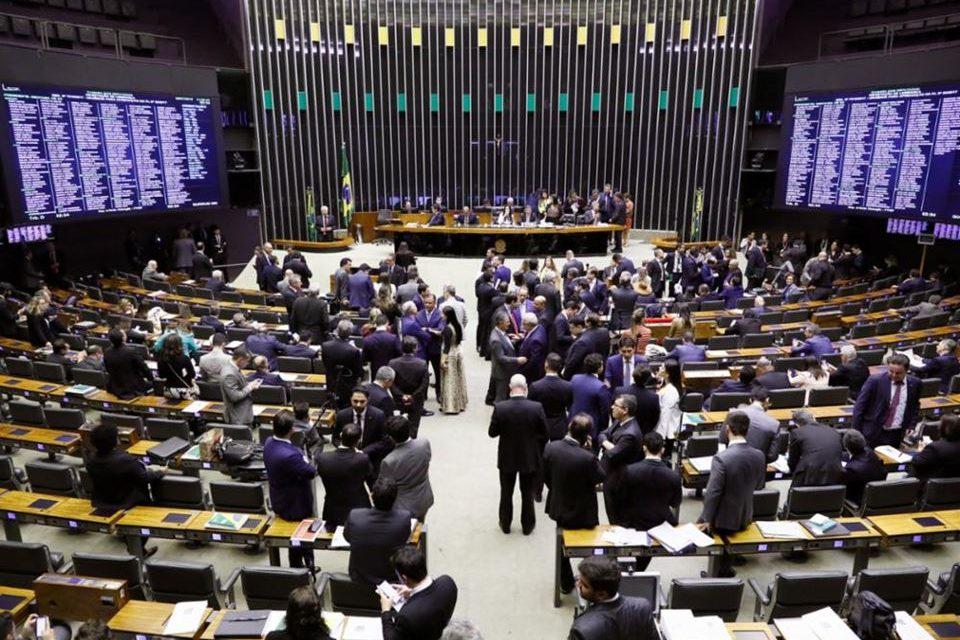 plenario camara previdencia 960x640 - Por 379 a 131 Câmara aprova reforma da Previdência no primeiro turno