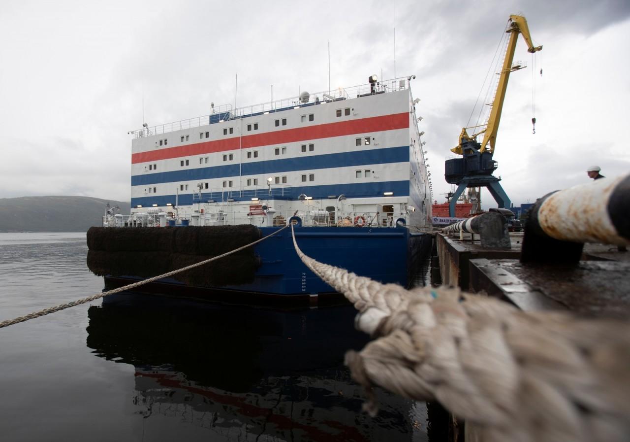 Usina nuclear flutuante vai atravessar a Rússia pelo Ártico