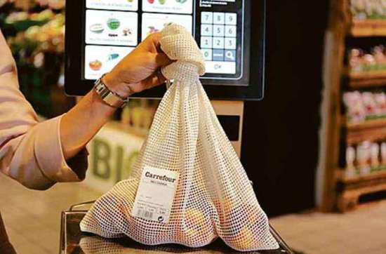 20190818230316533432a - Carrefour substitui saco plástico por sacos de algodão