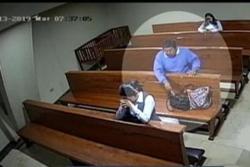 Homem comete furto dentro da igreja e sai fazendo 'sinal da cruz'; VEJA VÍDEO