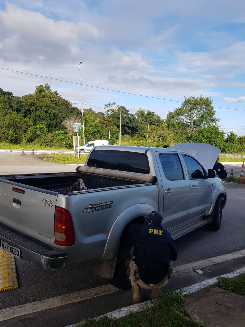 9e3b8ed9 7d88 456e 865a 0bc176093244 - GELADEIRA RECHEADA: PRF apreende carro roubado com 250Kg de drogas escondido em eletrodoméstico
