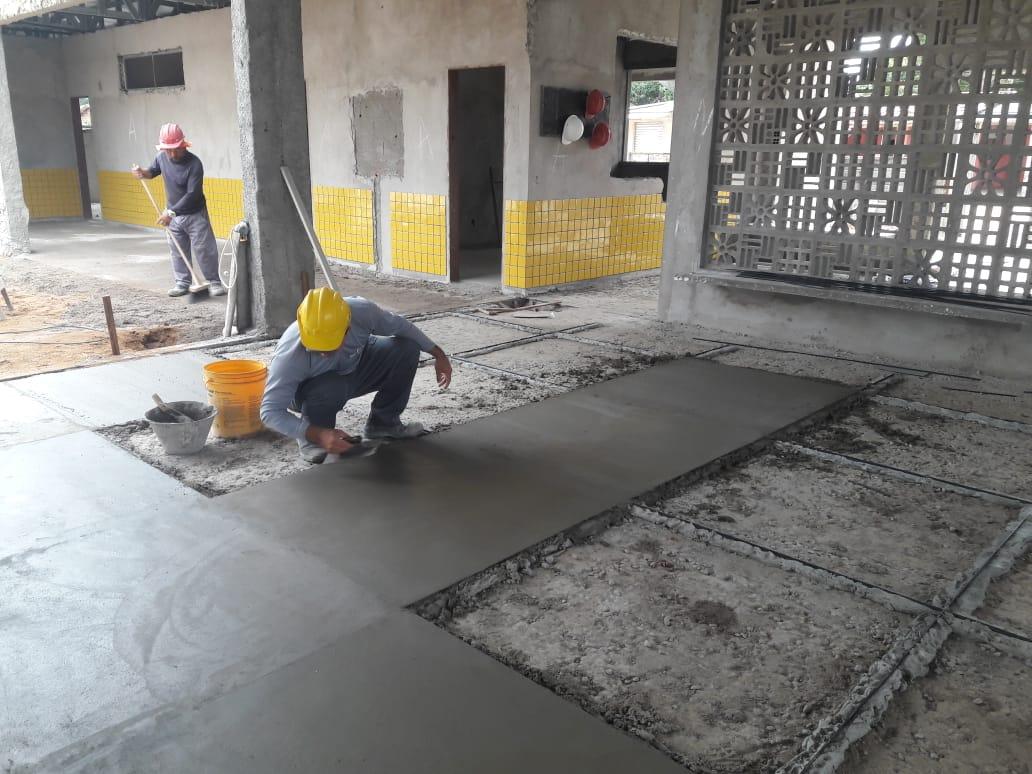 CREI Creche AssentamentoDonaAntônia 12 - Obras do CREI do Assentamento Dona Antônia seguem em ritmo avançado