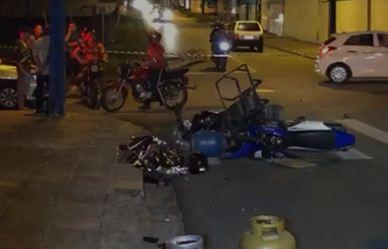 Capturarg - COLISÃO: Acidente envolvendo motos deixa uma pessoa morta na Zona Sul de João Pessoa