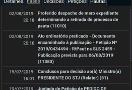 Pedido de afastamento de Berg Lima é retirado de pauta no STJ