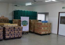 Mesa Brasil Sesc João Pessoa recebe doação de mais de 28 mil unidades de produtos