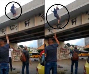 Missionária suicidio 1 300x247 - Pastores ficam abalados após ver vídeo de Pastora que pulou de ponte e saber o motivo do suicídio