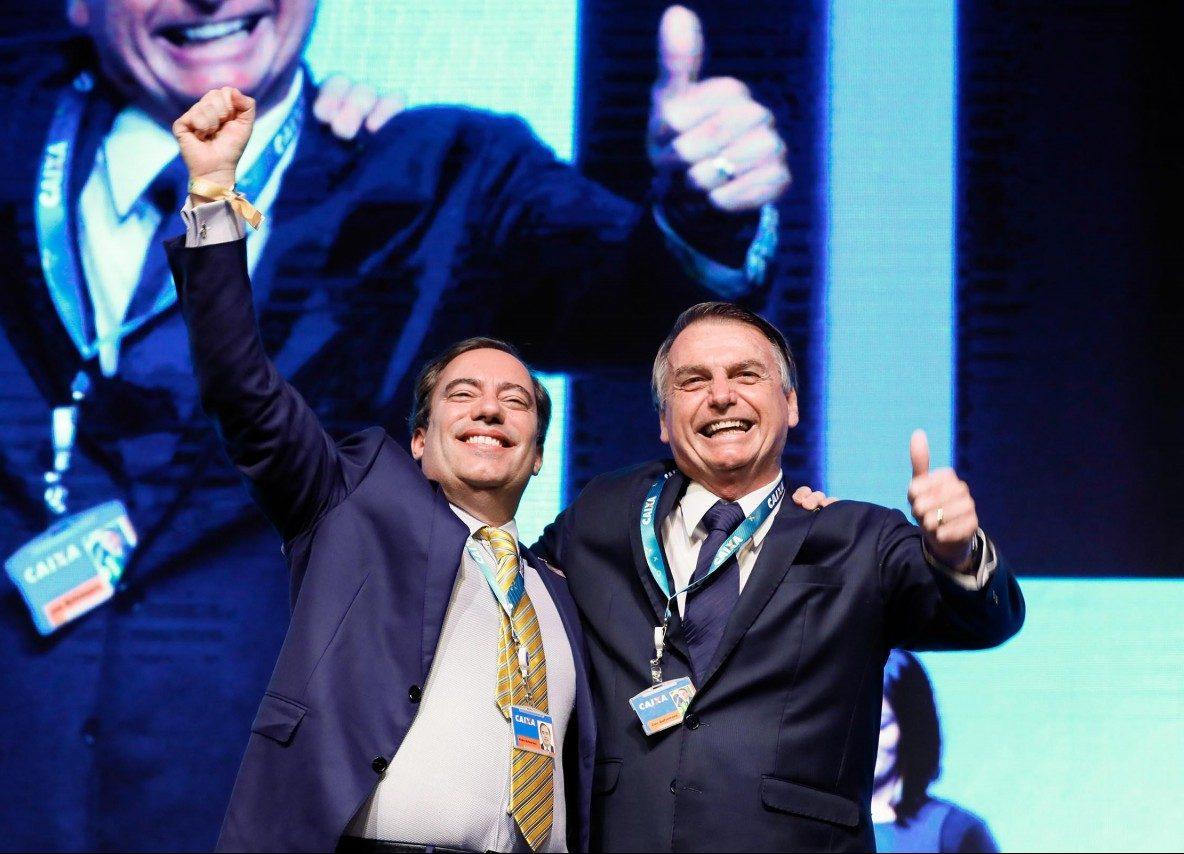 Presidente da Caixa Econômica Federal Pedro Guimarães e Jair Bolsonaro presidente da República 20190802 2 e1564782161597 - RETALIAÇÃO? Presidente da caixa ordenada que banco não empreste dinheiro ao Nordeste