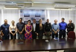 Prefeita Márcia Lucena participa de reunião com Superintendente da Polícia Civil para tratar de ações de segurança no Litoral Sul
