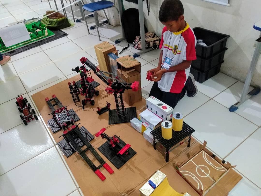 Robótica - Estudantes de Conde participam da etapa estadual da XIII Olimpíada Brasileira de Robótica