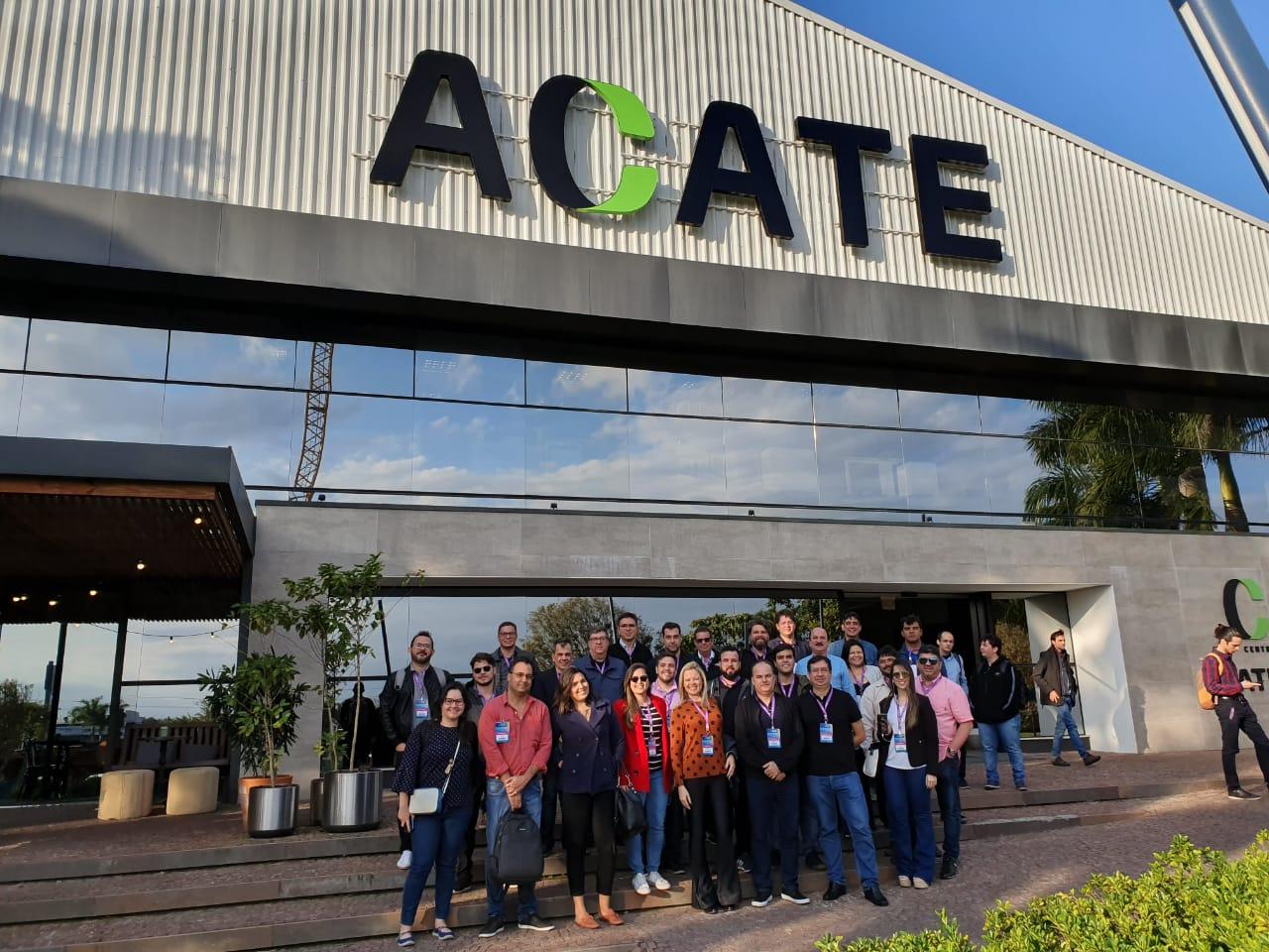 Visita Acate - Secretário municipal participa de semana de imersão em tecnologia em Florianópolis