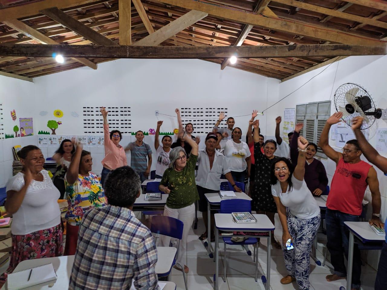 Visita Turmas do Agora Vai Fotos LeandroSantos Secomd 11 - Prefeita Márcia Lucena visita turmas do Programa de Alfabetização de Jovens e Adultos 'Agora Vai!'