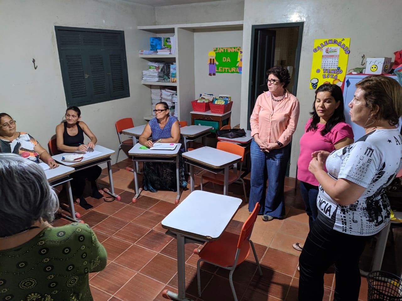 Visita Turmas do Agora Vai Fotos LeandroSantos Secomd 8 - Prefeita Márcia Lucena visita turmas do Programa de Alfabetização de Jovens e Adultos 'Agora Vai!'
