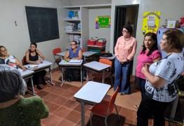 Prefeita Márcia Lucena visita turmas do Programa de Alfabetização de Jovens e Adultos 'Agora Vai!'