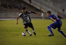 2 a 0: Botafogo-PB vence Confiança, quebra jejum e chega a 21 pontos
