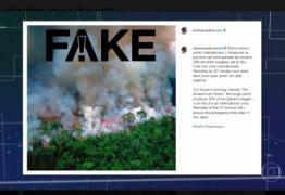 'HISTERIA E MUITOS ERROS': Globo desmente onda de notícias falsas sobre incêndios na Amazônia