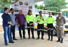 Prefeitura de Patos entrega veículo para Núcleo de Educação no Trânsito da STTRANS