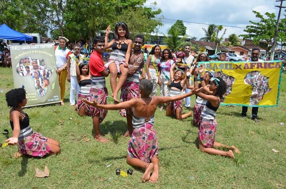 afro5 - Em Santa Rita, 11 mil alunos participam de projeto sobre cultura afro-brasileira