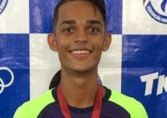 at - Atleta paraibano conquista medalha de bronze em campeonato Brasileiro de Taekwondo no Rio