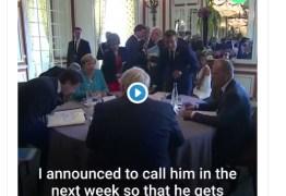 Câmera flagra Merkel dizendo a Macron o que fazer sobre Bolsonaro – VEJA VÍDEO