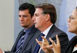 O Globo, Folha e Estadão destacam Moro 'menor' e humilhado por Bolsonaro