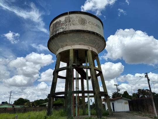 caixa Cagepa - ABASTECIMENTO INTERROMPIDO: Cagepa executa limpeza de três reservatórios em JP nesta sexta