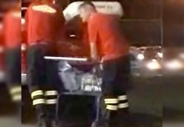 Corpo de Bombeiros investiga transporte de cervejas em viatura