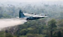 Aviões da FAB começam a ser usados no combate a queimadas na Amazônia – VEJA VÍDEO