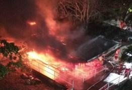 INCÊNDIO NA UEPB: vazamento em botijão de gás causa explosão e assusta estudantes da Central de Aulas – VEJA VÍDEOS