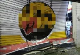'GANGUE DA MARCHA RÉ': Suspeitos voltam a atacar, arrombam loja de eletrodomésticos e são presos,  na PB