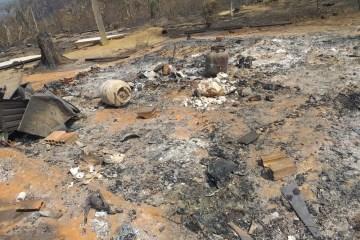 img 20190814 wa0467 - Casal morre abraçado ao tentar fugir de queimada em Rondônia - IMAGENS FORTES