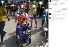 Paratleta morre atropelado por carro durante competição