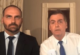 """Bolsonaro sobre Eduardo: """"Não quero submeter meu filho ao fracasso"""""""