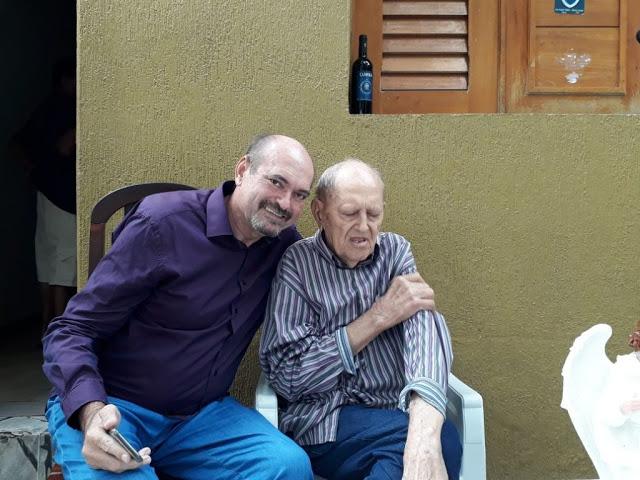 jeová campos e pai - Pai do deputado Jeová Campos falece neste domingo, 'Era meu professor'
