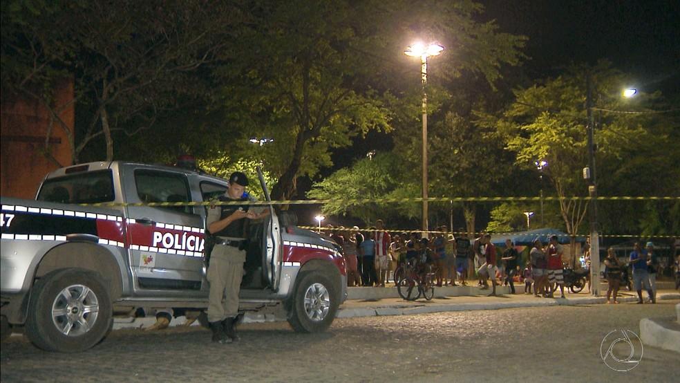 jovem morto tiros praca santa rita tibiri - ATLAS DA VIOLÊNCIA: Santa Rita está entre as 10 cidades metropolitanas que passam as capitais em taxa de homicídios