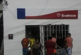 Grupo de assaltantes explode agência bancária na cidade de Mogeiro