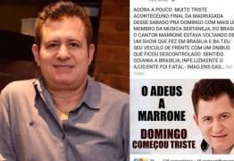 Fãs se pronunciam sobre suposta morte de Marrone após Fake News espalhar-se
