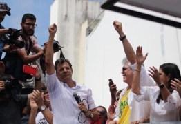 SOS TRANSPOSIÇÃO: sob liderança de Ricardo Coutinho, Fernando Haddad, Gleisi Hoffmann e Lindberg Farias participam de ato em Monteiro neste domingo