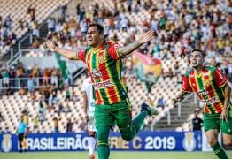 Sampaio dispara na liderança da Série C, após derrotar o Treze por 2 a 0