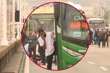 sequestrador - SEQUESTRADOR MORTO: Homem que fez reféns em ônibus usava arma de brinquedo e foi atingido por atirador de elite - VEJA VÍDEO DO MOMENTO DOS TIROS