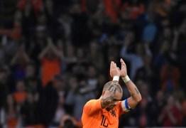 Sneijder segue passos de Robben e Van Persie e anuncia aposentadoria