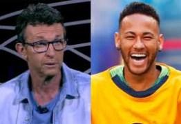 """Neto questiona convocação de Neymar e dispara: """"Só faz m…"""""""