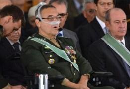 Sob risco de ficar sem voz, general Villas Bôas defende maconha medicinal – VEJA VÍDEO