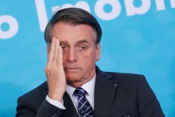 14425007 - Temendo protestos, Bolsonaro deve se afastar da ONU
