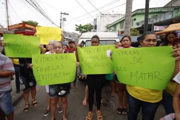 15690884225d8663a6ceddc 1569088422 3x2 xl - 'O único tiro que teve foi o deles', diz tio de menina morta no Rio