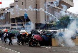 Estudantes de Hong Kong boicotam primeiro dia de aula