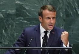 Macron cita Amazônia como parte de 'batalha' contra o aquecimento